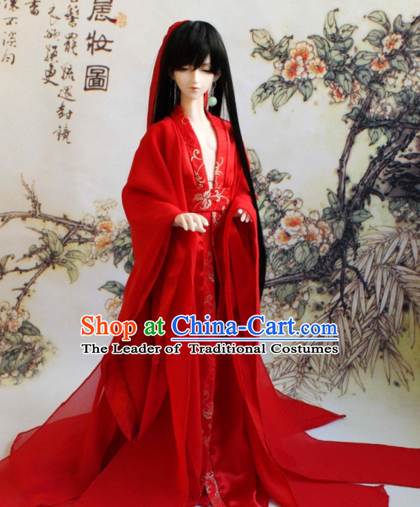 Chinese Style Dresses Chinese Clothing Clothes Han Chinese Costume Hanfu for Men Adults Children