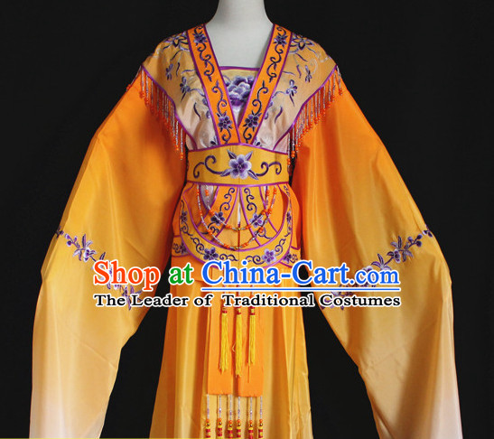 Color Change Chinese Opera Hua Dan Costumes Complete Set for Women