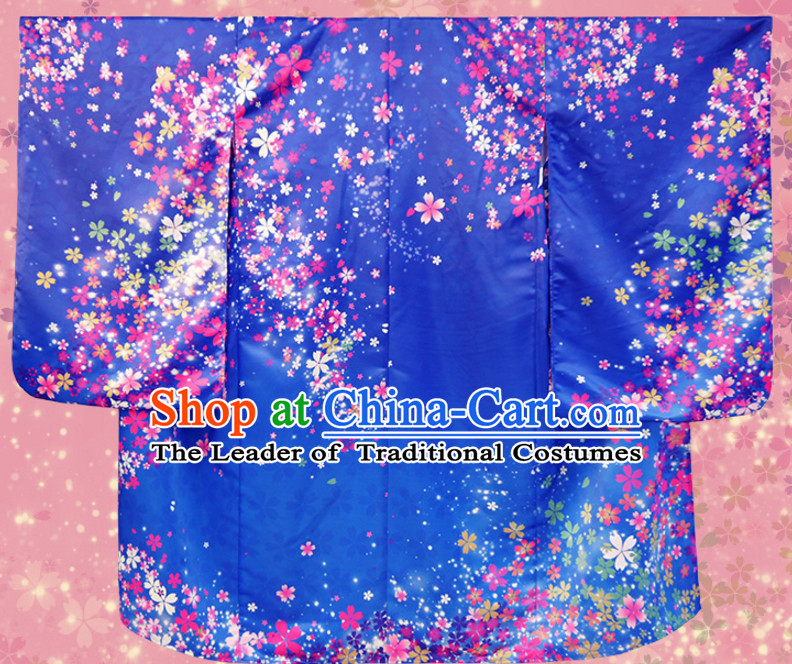 Japanese Princess Kimono Clothes Complete Set for Women