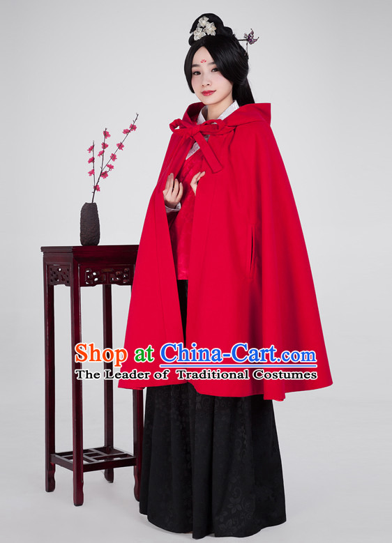Ancient Chinese Classical Hanfu Outfits Clothing Complete Set for Women