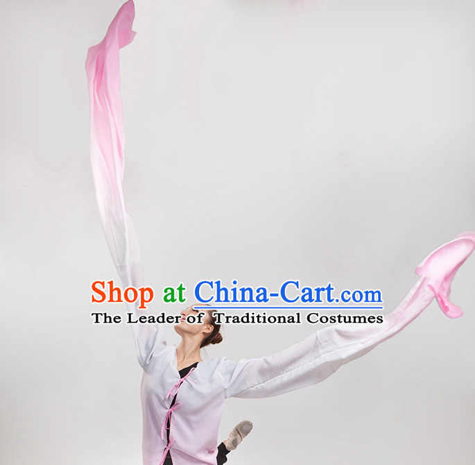 Color Changing Chinese Classical Water Sleeves Long Sleeves Dancing Costume for Women or Girls