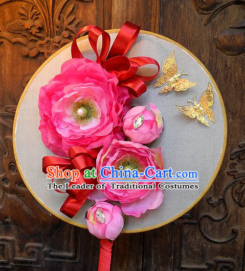 Handmade Ancient Chinese Imperial Royal Empress Princess Empress Fan