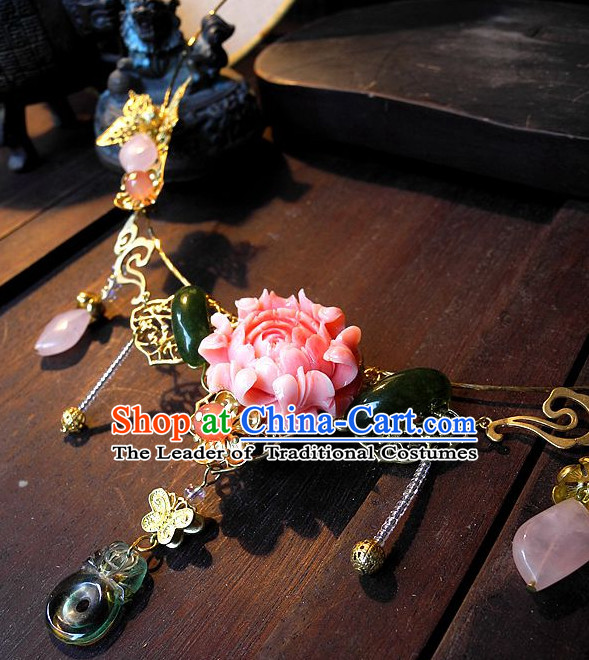 Ancient Chinese hair sticks clips ornaments pin hair pieces combs ancient ornaments chopsticks Asian style accessories wedding bridal