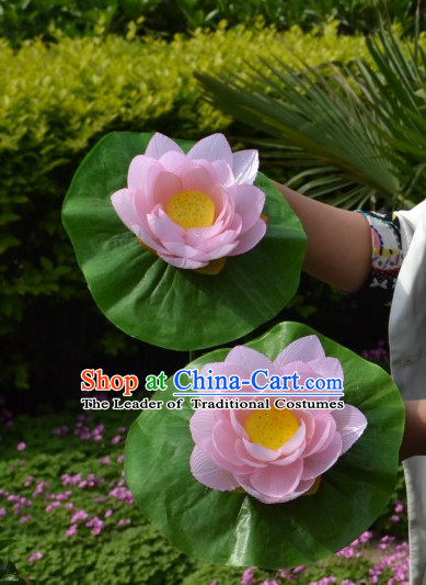 Chinese Lotus Flower Dance Props for Children