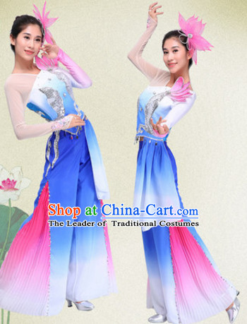 Chinese Folk Group Classic Dance Costumes Dress online for Sale Complete Set for Women Girls Adults Youth Kids