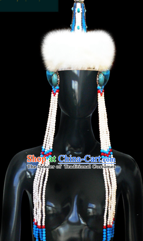 Mongolian People Yuan Dynasty Mongolians Princess Empress Queen Hat for Women Girls Adults Children