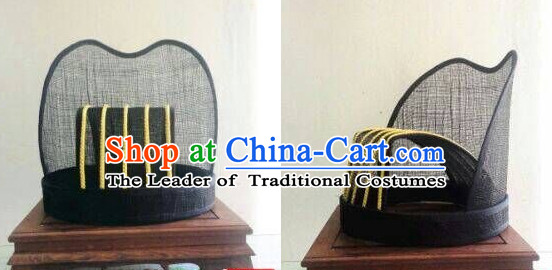 Ancient Asian Chinese Headdress Oriental Headwear Hat for Men Boys