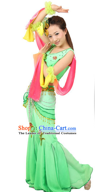 Chinese Traditional Dance Costumes Ancient Chinese Clothing Complete Set for Women