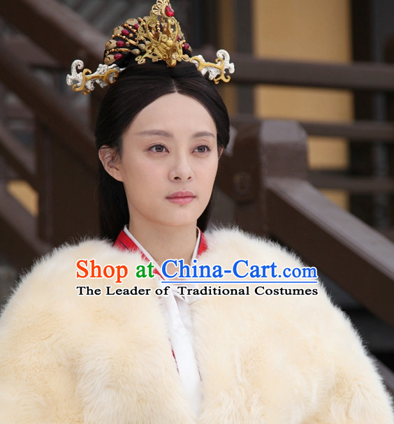 Ancient Chinese Traditional Style Empress Hair Accessories for Women Girls
