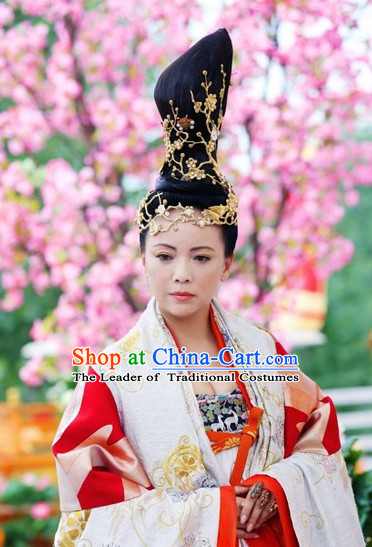 Ancient Chinese Style Princess Black Wigs and Hairpins Hair Clips Hair Accessories for Women