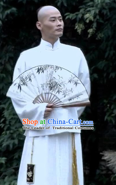 Custom Made Made to Order Traditional Chinese Style Ancient China Wise Man Hanfu Clothing Garment Clothes Suits Dresses Men Children