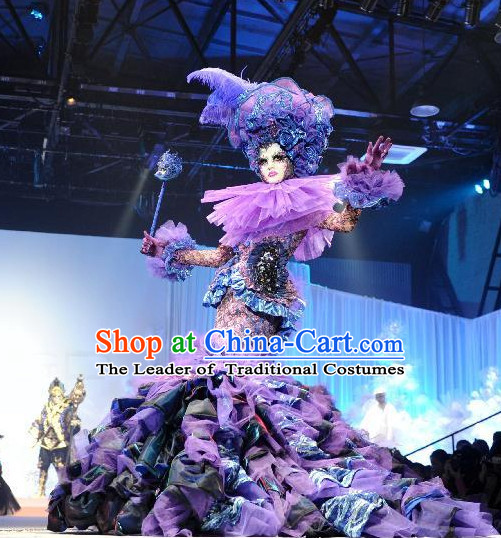 Custom Tailored Make Made to Order Custom Made Professional Stage Performance Costumes