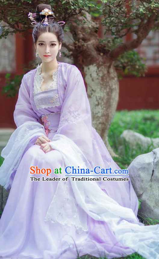 Ancient Chinese Princess Clothing Complete Set for Women