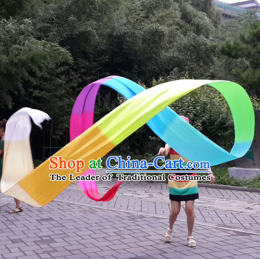 10 Meters Color Changing Dance Ribbon