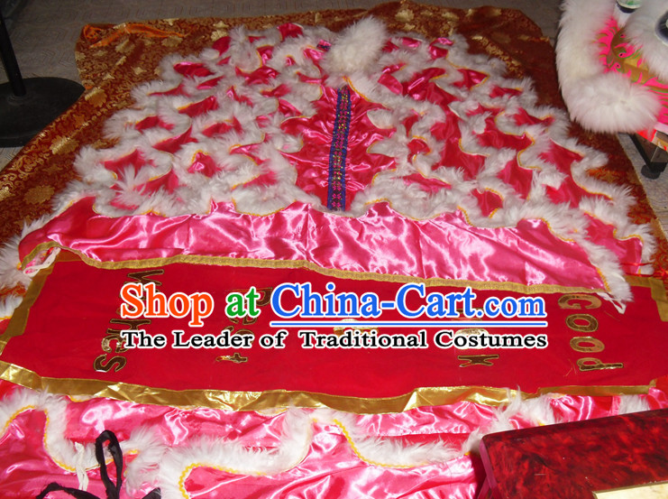 Top Asian Chinese Lion Dance Troupe Performance Suppliers Pants Equipments Art Instruments Lion Tail Costume