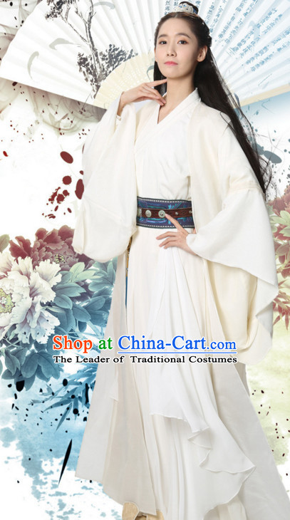 Ancient Chinese Young Women Female Hanfu Dresses Complete Set