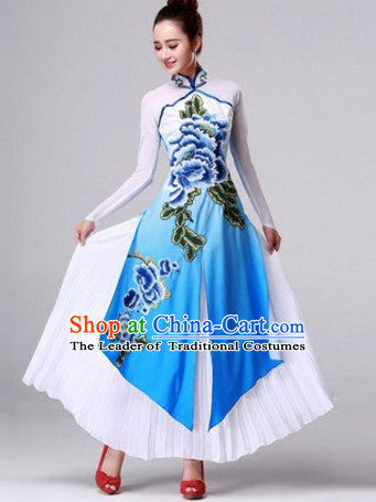 Chinese Stage Classical Dancewear Costumes Dancer Costumes Dance Costumes Chinese Dance Clothes Traditional Chinese Clothes Complete Set for Women Children