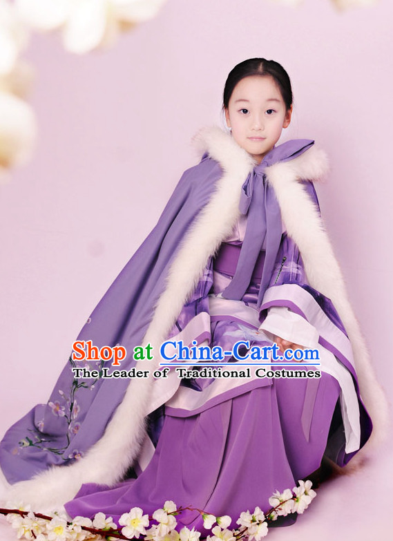 Top Chinese Han Dynasty Princess Hanfu Clothing Chinese Hanfu Costume Hanfu Dress Ancient Chinese Costumes and Hat Complete Set for Women Girls Children