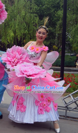 20 Inches Handmade Peony Flower Dance Props