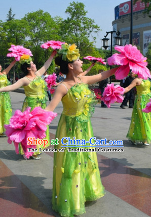20 Inches Handmade Peony Flower Dancing Props