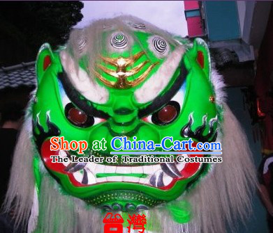 Old Style Taiwan Lion Dancing Equipment Complete Set