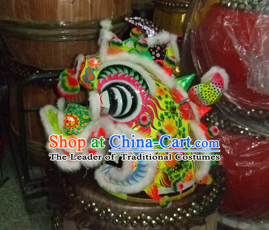 Chinese Traditional Handmade Kylin Dancing Costume Complete Set