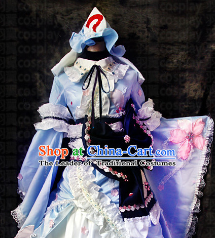Made to Order Cosplay Costumes and Headdress Complete Set for Women or Girls