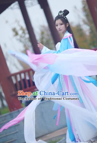 Chinese Ancient Style Fairy Garments Complete Set for Women