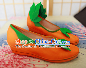 Ancient Traditional Asian Style Cosplay Shoes