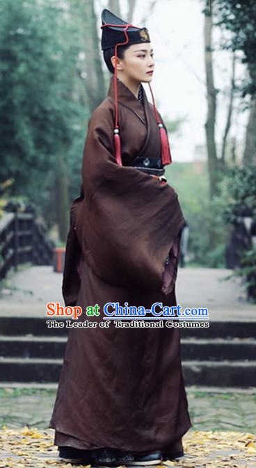 Ancient Chinese Kung Fu Master Costumes for Women or Men