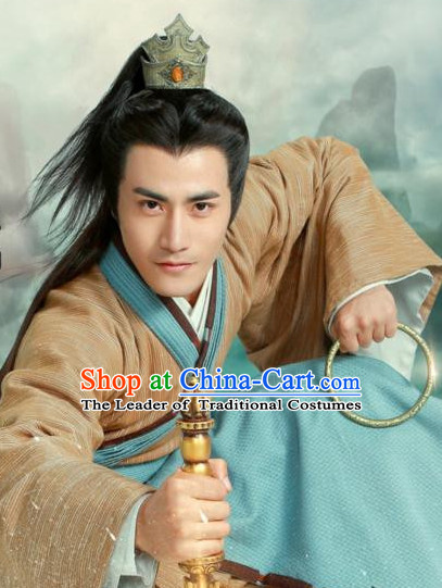 Ancient Chinese Kung Fu Master Costumes for Men