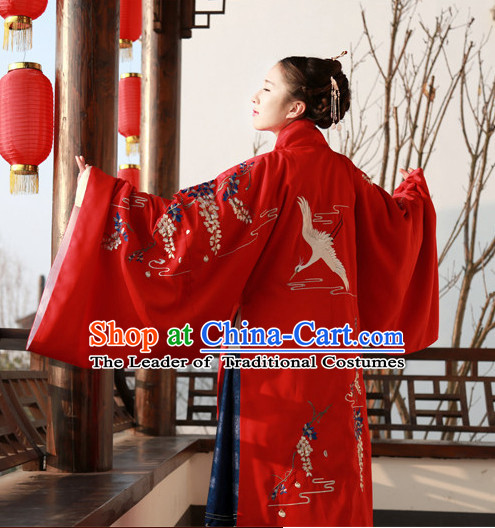 Traditional Chinese Ancient Ming Dynasty Princess Garment Suits Dresses Complete Set for Women