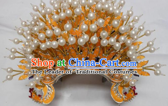 Top Traditional Chinese Empress Phoenix Coronet Hat