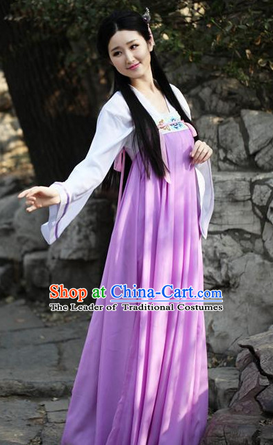 Ancient Chinese Tang Dynasty Style Skirt Clothing Complete Set for Women