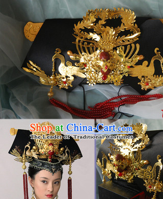 Qing Dynasty Imperial Royal Quene Phoenix Hairstyle Manchu Hairstyle Chinese Oriental Hairstyles