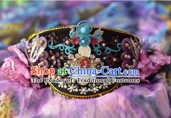 Qing Dynasty Imperial Royal Quene Hairstyle Manchu Hairstyle Chinese Oriental Hairstyles