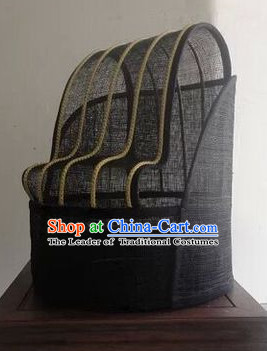 Handmade Chinese Ancient Style Official Hat Asian Headwear for Men