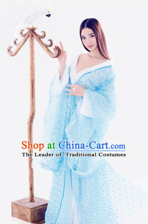 Traditional Chinese Ancient Fairy Costumes Complete Set for Women Girls Kids Adults