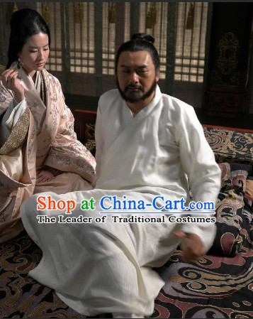 Ancient Chinese Emperor Pajamas Hanfu Han Fu Clothing Complete Set