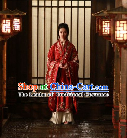Traditional Chinese Ancient Empress Clothes Complete Set for Women