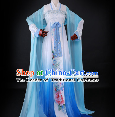 Ancient Chinese Queen Clothing Traditional Chinese Empress Clothes Dresses Tangzhuang Han Fu Complete Set for Women