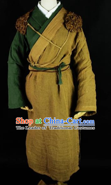 Chinese Traditional Hanfu China Peasant Cosplay Costume Chinese Cosplay Hanfu Halloween Costume Party Costume Fancy Dress