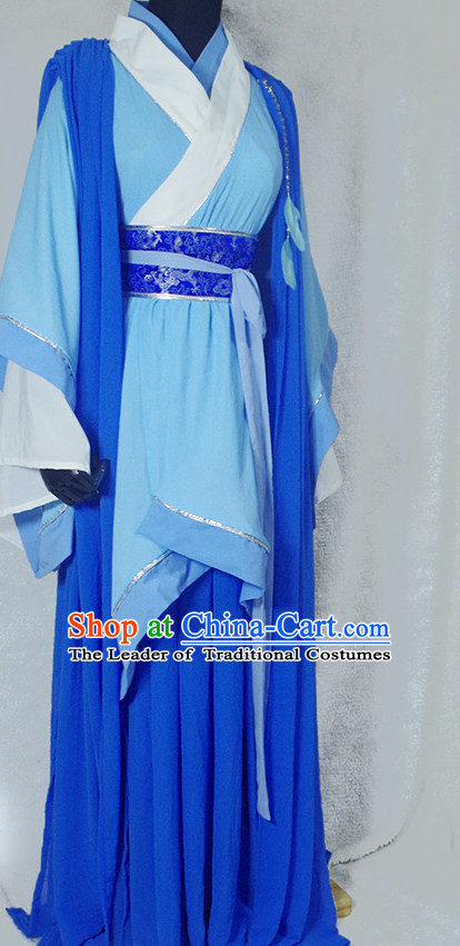 Chinese Ancient Han Fu Prince Clothing Robes Tunics Accessories Traditional China Clothes Adults Kids