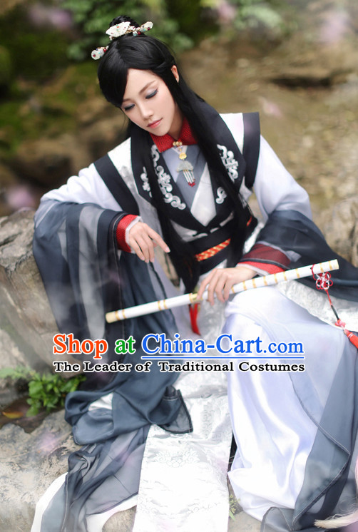 Chinese Ancient Knight Costume National Costumes Stage Play Dramas Drama Costume for Men