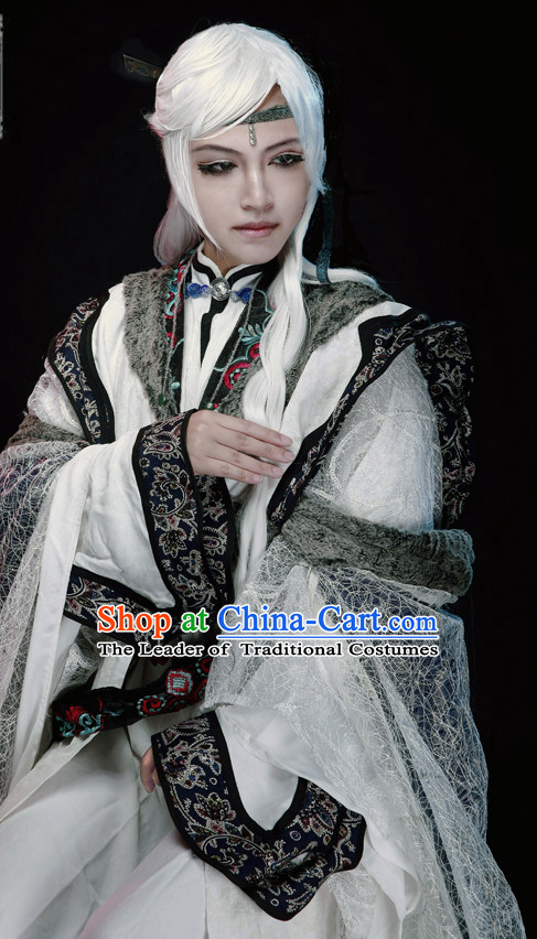 Ancient Chinese TV Drama Film Nobleman Clothing Rich Family Memeber Dress National Costumes Complete Set for Men