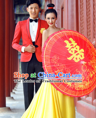 Asian Dance Umbrella China Handmade Double Happiness Wedding Umbrellas Stage Performance Umbrella Dance Props