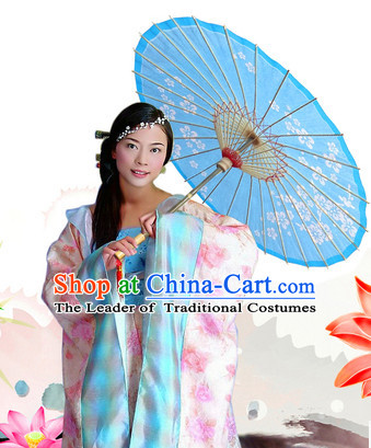 Traditional Rainproof Handmade Chinese Moon Festival Changer Oil Paper Umbrellas China Dance Umbrella Stage Performance Umbrella Dancing Props