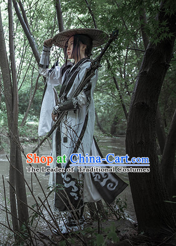 Ancient Chinese Hero Cosplay Costumes Complete Set for Men