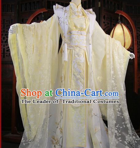 Chinese Traditional Empress Royal Stage Hanfu Hanbok Kimono Costume Dresses Costume Ancient Garment Complete Set