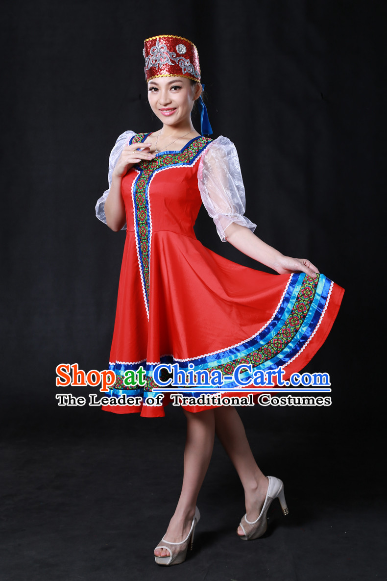 Chinese Yi Lao Miao Zhuang Bai Yao Minority Women Dresses Ethnic Clothing Minority Dance Costume Minority Dress Complete Set